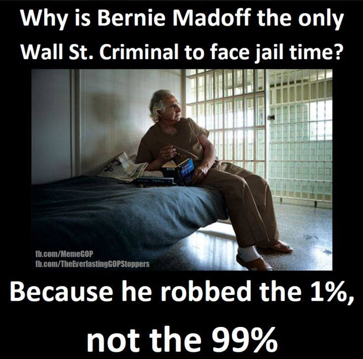 Madoff victim of the 1%