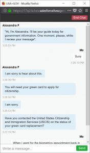 us gov chat