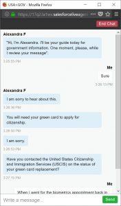 us gov chat